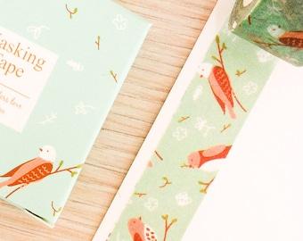 Cute washi tape - little birds #2 | Cute Stationery
