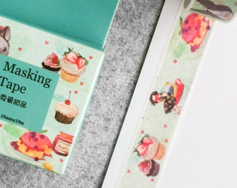 Cute washi tape - sweet pastries | Cute Stationery
