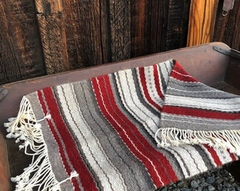 Navajo Churro Sheep Handwoven Rug - 43 -inches by 24-inches - SOLD