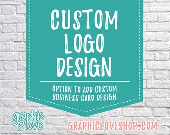 Custom Logo Design, Graphic Love Shop | Business Cards, Branding, Graphic Designer, Small Business, Ohio, Unlimited Changes, Personalized