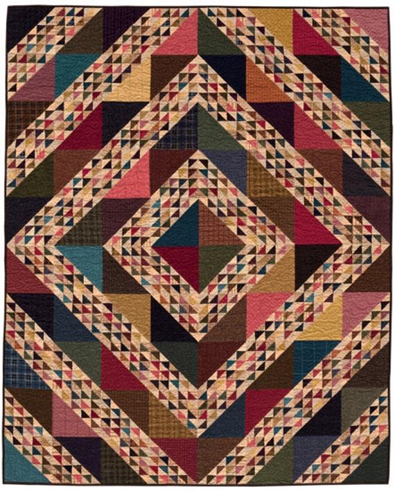 Moda Scrap Bag and Moda Wool Scrap Bag Bundle with PatternScrap Happy