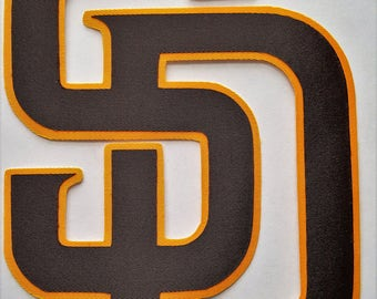 740a5e4d9ac Huge San Diego Padres Iron On Patch