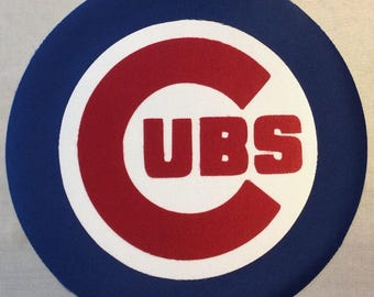 Huge Chicago Cubs Iron On Patch