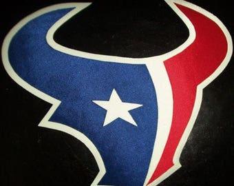 Huge Houston Texans Iron On Patch