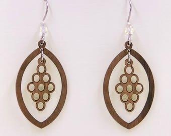 Circles Dangle Earring