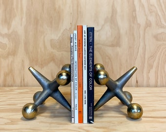 Bill Curry Style Jack Bookends