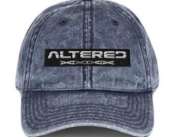 Altered Vintage Cotton Twill Cap