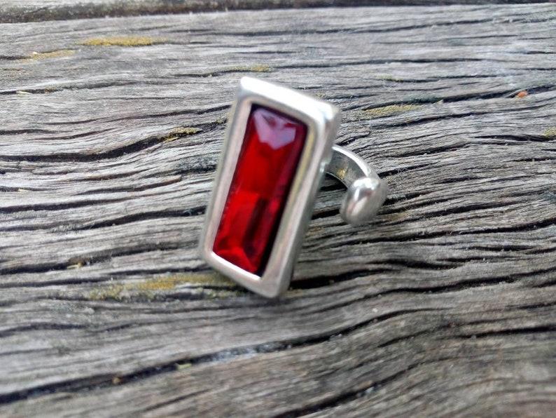 women jewelry woman ring red irregular stone woman jewelry uno no de 50 jewelry