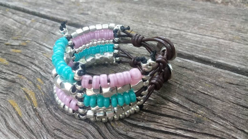 bracelets for women boho bracelet crystal pink bracelet bohemian bracelet uno de 50 style