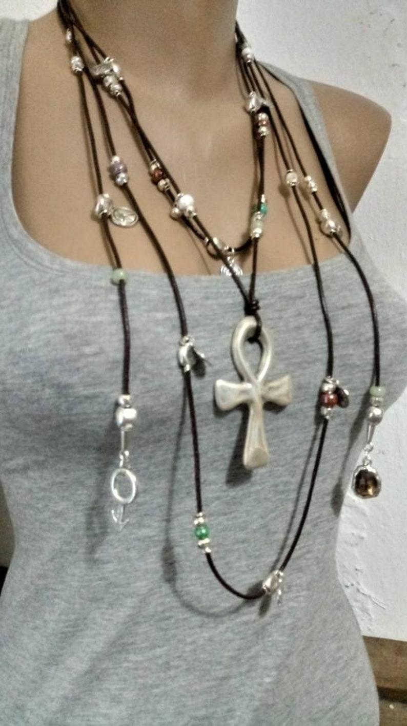 woman necklace boho necklace uno no de 50 jewelry women jewelry