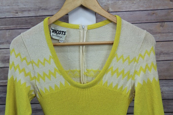 Vintage c. 1970's Tricots by Youth Guild Ribbed Fi