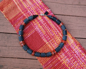 NEW!! Fifty Shades of Coral Mobius (Infinity) Scarf