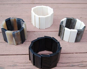 Safari-Chic, Eco-friendly, Statement, African Cuff Bracelets Handmade in Nairobi