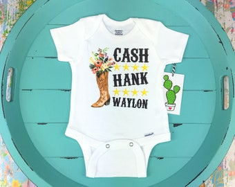 005e654fb Cowgirl Onesie, Country Baby, Baby Girl, Cowgirl Baby Gift, Cowgirl Baby  Shower, Cute Baby Clothes, Country Music Onesie, Cute Girl Shirt