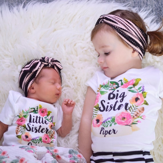 big sister little sister matching sister outfits  etsy