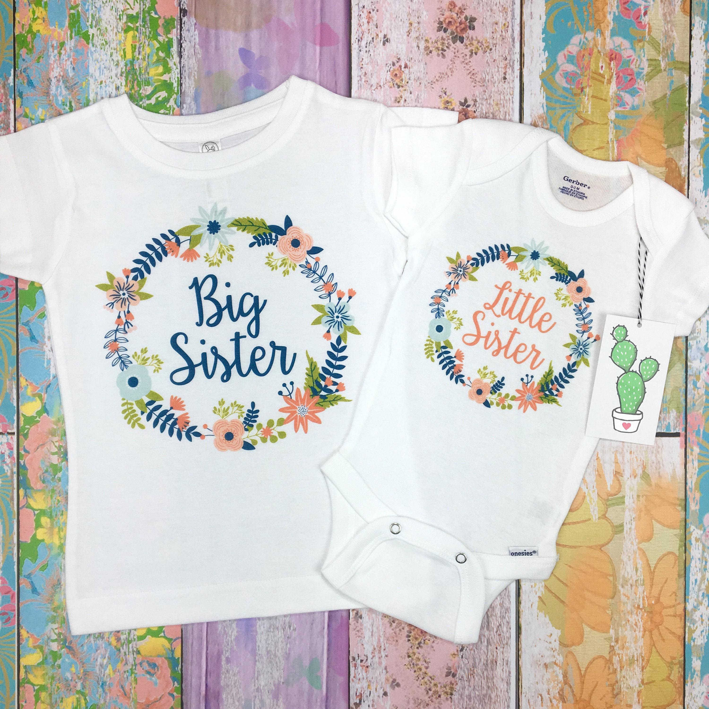 118bea62 Big Sister Little Sister Outfits Big Sister Shirt Big Sister | Etsy