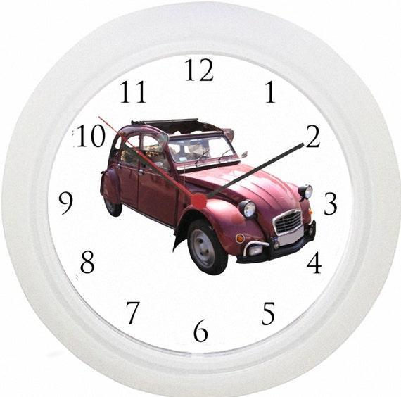 Citroën 2CV Auto Wanduhr Keine Verkabelung Schnelle | Etsy