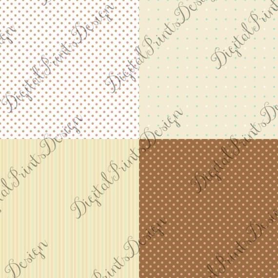 Pascua Pascua acogedor papel Digital de patrones sin fisuras | Etsy