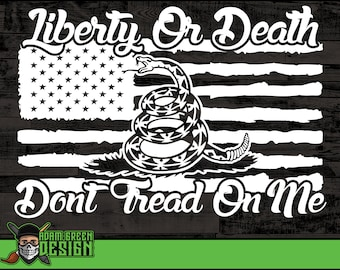 dont tread on me svg etsy