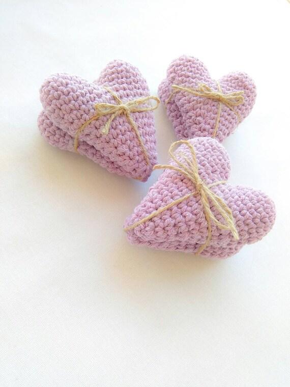 Hochzeitsgeschenke Herz Begunstigt Hakeln Lavendel Herzen Etsy
