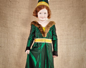 Size 6yo - The Medieval Princess Iseult Costume