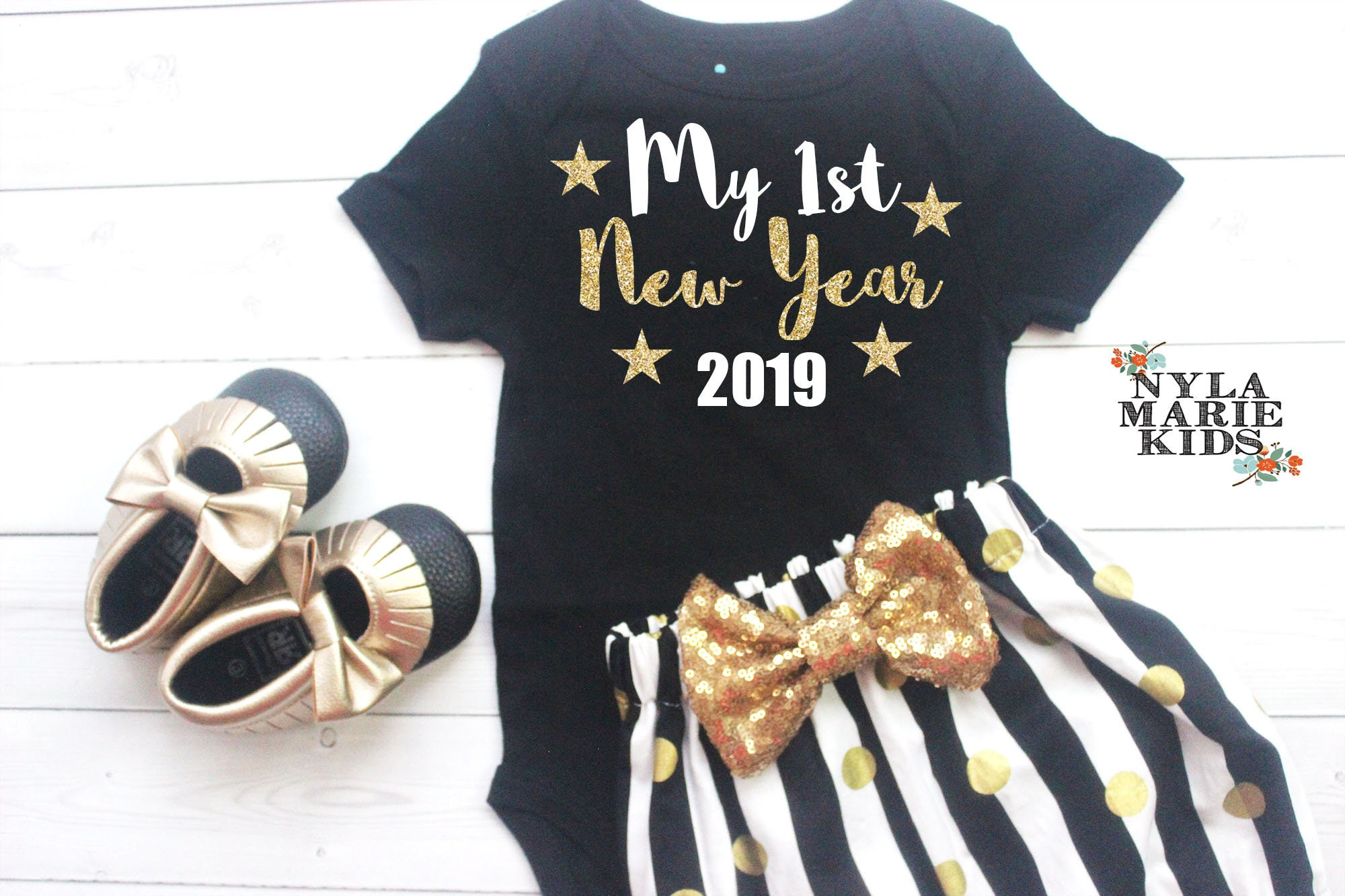 61792dec9f159 My First New Year 2019 New Years Party Girls New Year