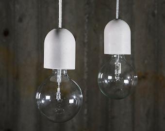 Concrete Pendant Lamp - Ready to ship
