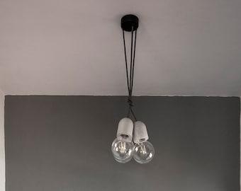 Concrete Pendant Lamp - Multiple concrete pendant lamp - Multiple ceiling light