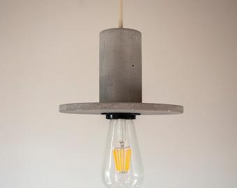 Concrete Pendant Lamp - Mod Cartoon