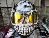 Custom Airbrushed Full face Motorcycle Helmet