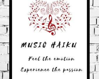 Music Prints | Music Art | Wall Decor | Music Quotes | Music Decor | Wall Art | Quote Prints | Gifts for her | Mancave Decor | Gifts for him