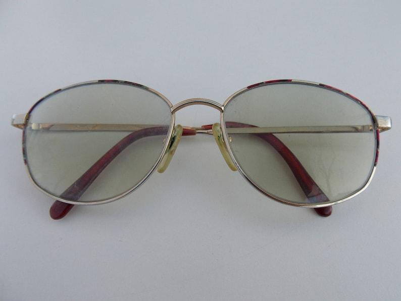 ec6663c88656 Classic gold frame glasses Vintage glasses gold frame