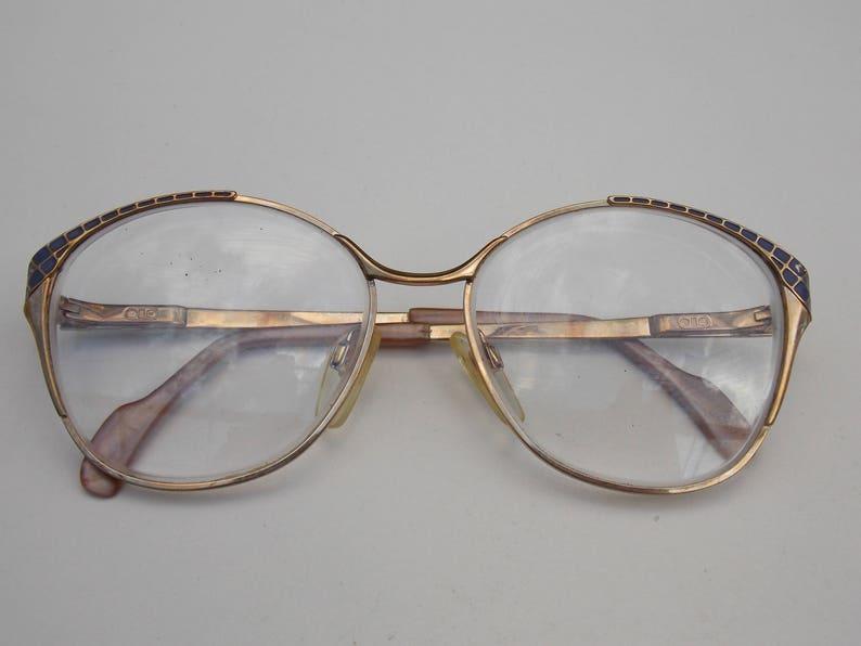 9c6da8f703 Grannu glasses gold frame glasses vintage glasses large