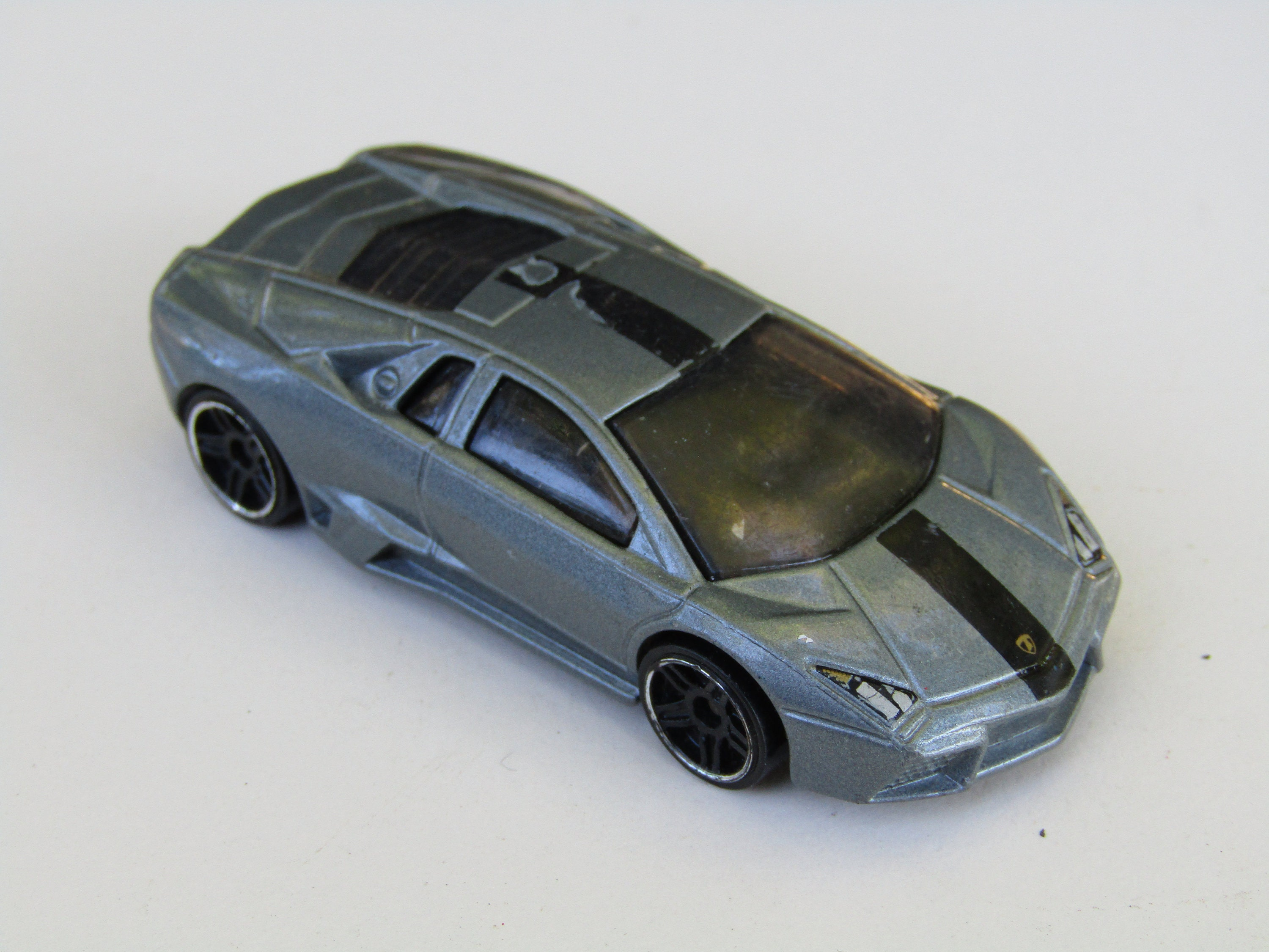 Lamborghini Gray Made In Thailand Collector Old Vintage Etsy