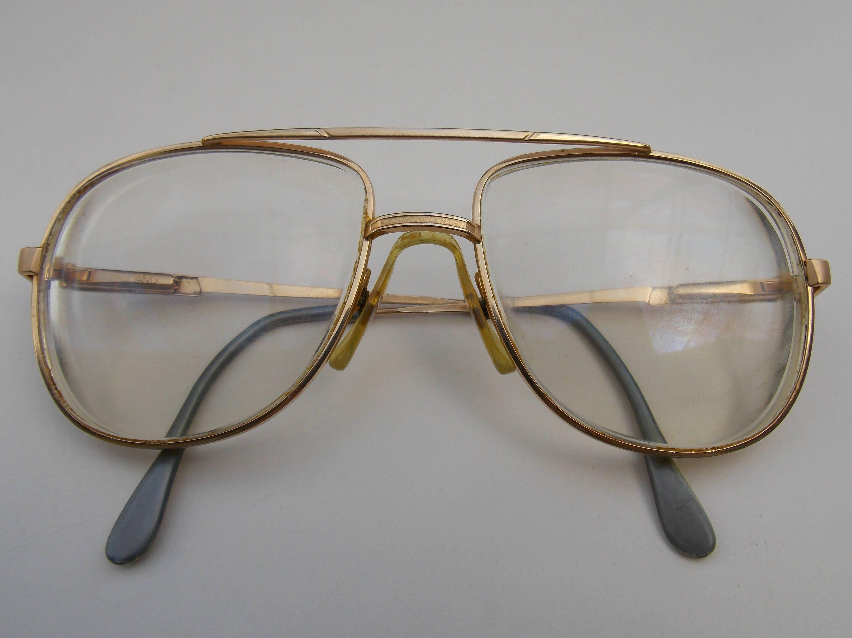 Lacoste Brillen Vintage original Lacoste Brillen retro Gold