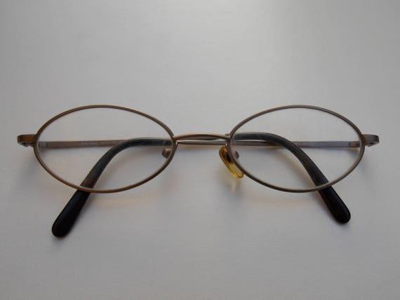 Oval Silver retro style Glasses, women glasses, Vi