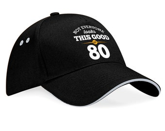 80th Birthday 1938 Baseball Cap Gift Keepsake Idea Still Looking Good At 80 Years Old