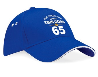 65th Birthday 1953 Baseball Cap Gift Keepsake Idea Still Looking Good At 65 Years Old
