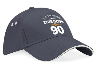 90th Birthday 1928 Baseball Cap Gift Keepsake Still Looking Good At 90 Years Old