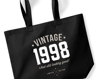 21st Birthday Idea Bag Tote Shopping Great Present Gift 1998