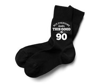 90th Birthday 1933 Vintage Socks Gift Keepsake Idea 90 Years Old