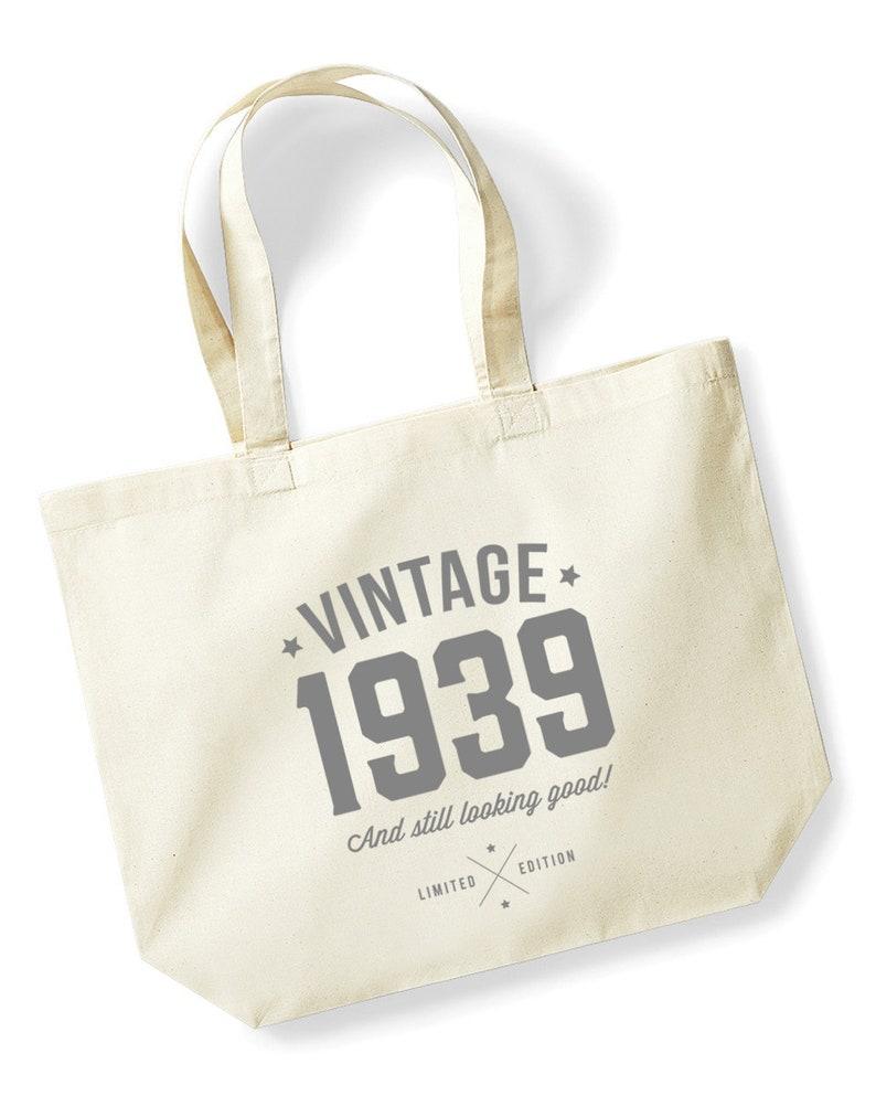 80th Birthday Idea Bag Tote