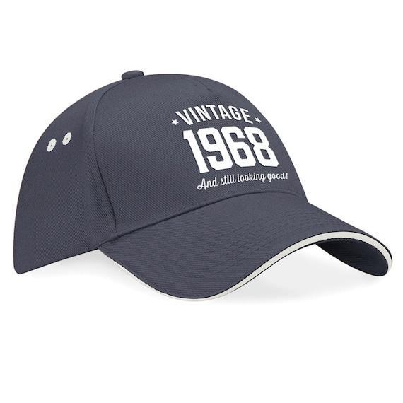 50th Birthday 1968 Baseball Cap Gift