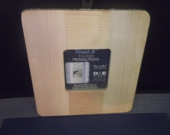 DIY DecoArt Unfinished Wood Picture Frame Ready to Paint or Stain