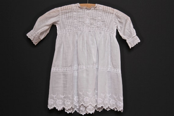 French Antique Baptism Dress