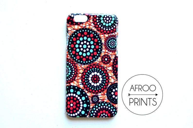 AFROOPRINTS. African Wax XI print iPhone case image 0