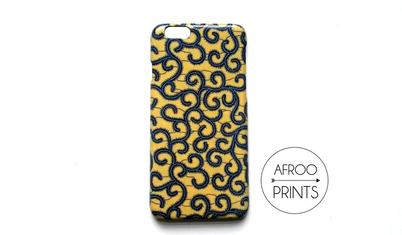 AFROOPRINTS Wax X African print smartphone shell image 0