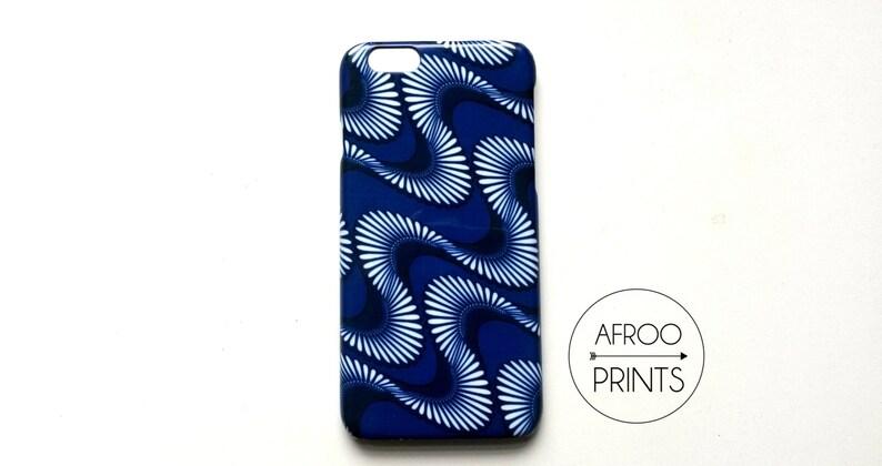 AFROOPRINTS Wax IX African print smartphone shell image 0