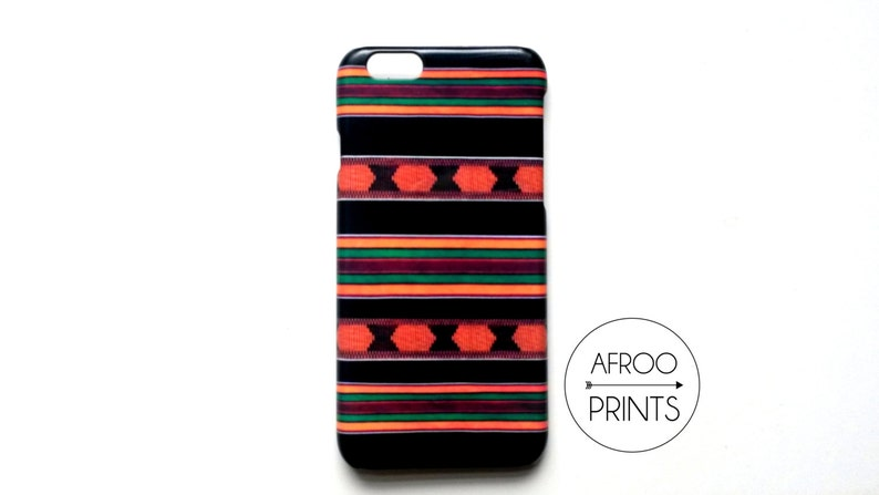 AFROOPRINTS Smartphone shell in African print XII image 0