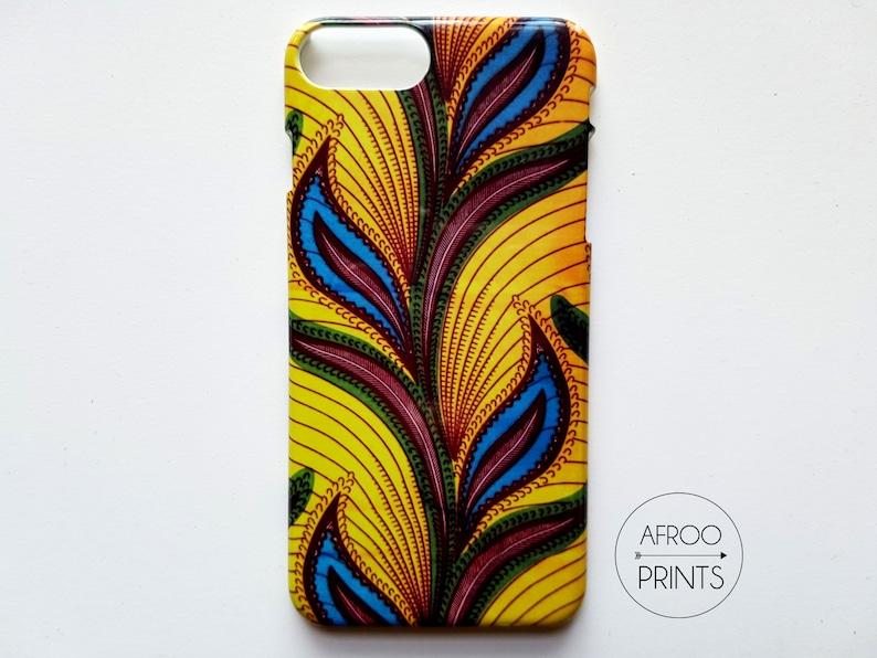 AFROOPRINTS Wax African Prints XXXVIII smartphone shell image 0